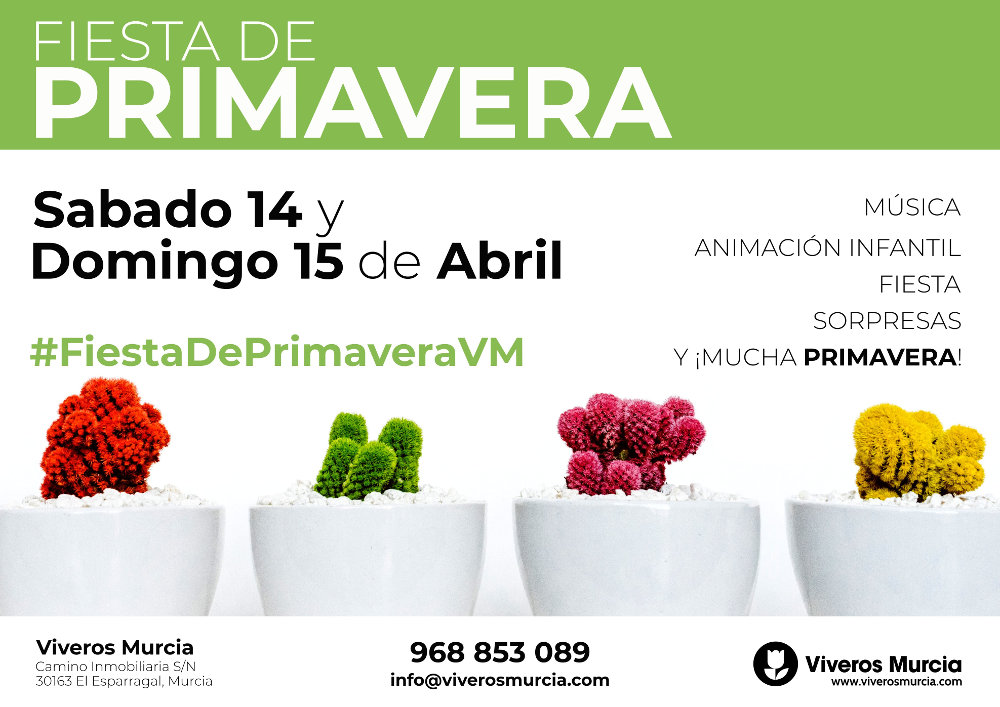 Fiesta de Primavera 2018 en Viveros Murcia
