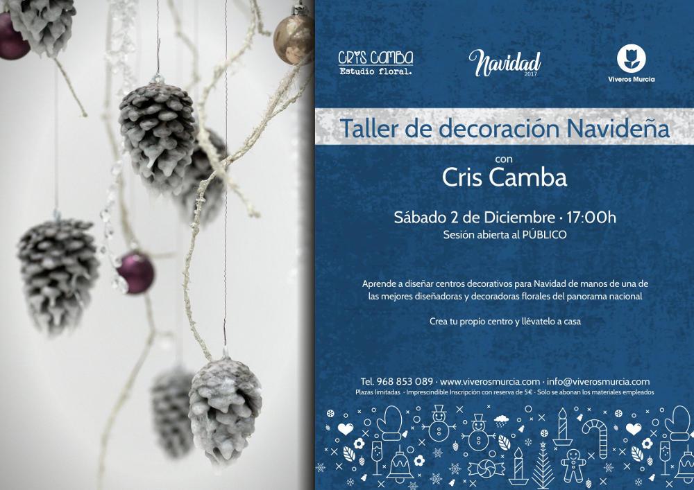 Taller de Decoración Navideña 2017 con Cris Camba