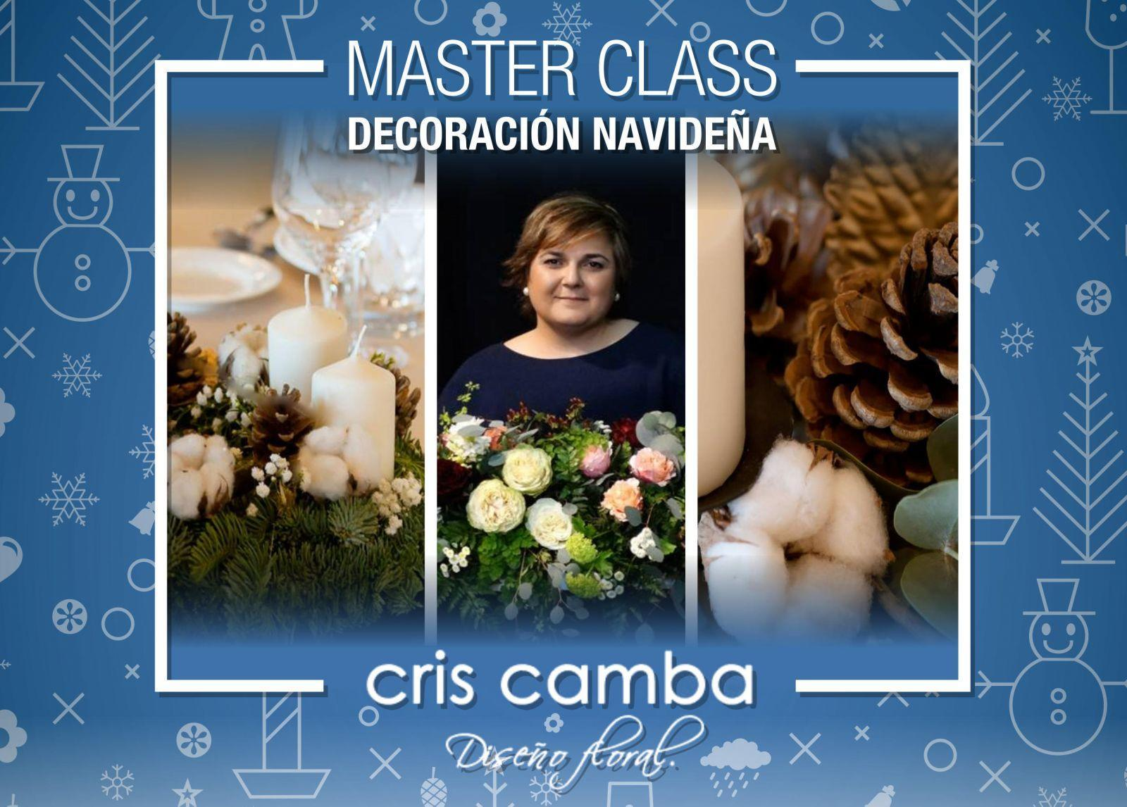 Master Class de Decoración Navideña con Cris Camba