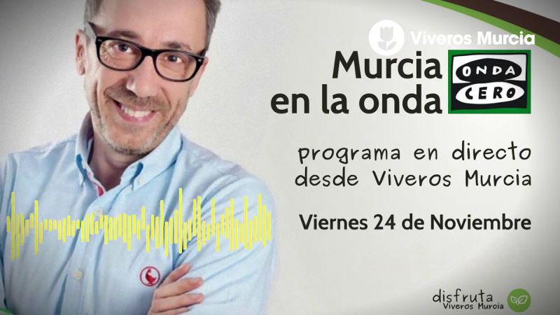 Audio de la entrevista a Viveros Murcia en Onda Cero