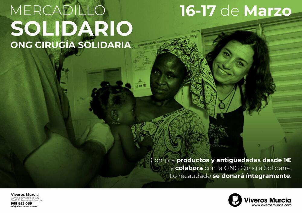 Mercadillo solidario en favor de la ONG Cirugía Solidaria