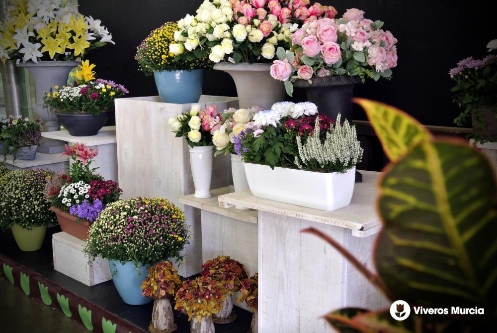 Reserva ya tus centros florales para el día de Todos los Santos