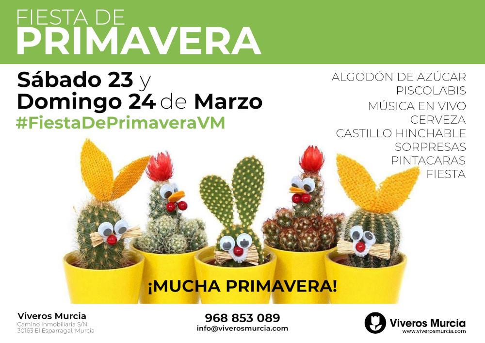 Fiesta de Primavera 2019 en Viveros Murcia