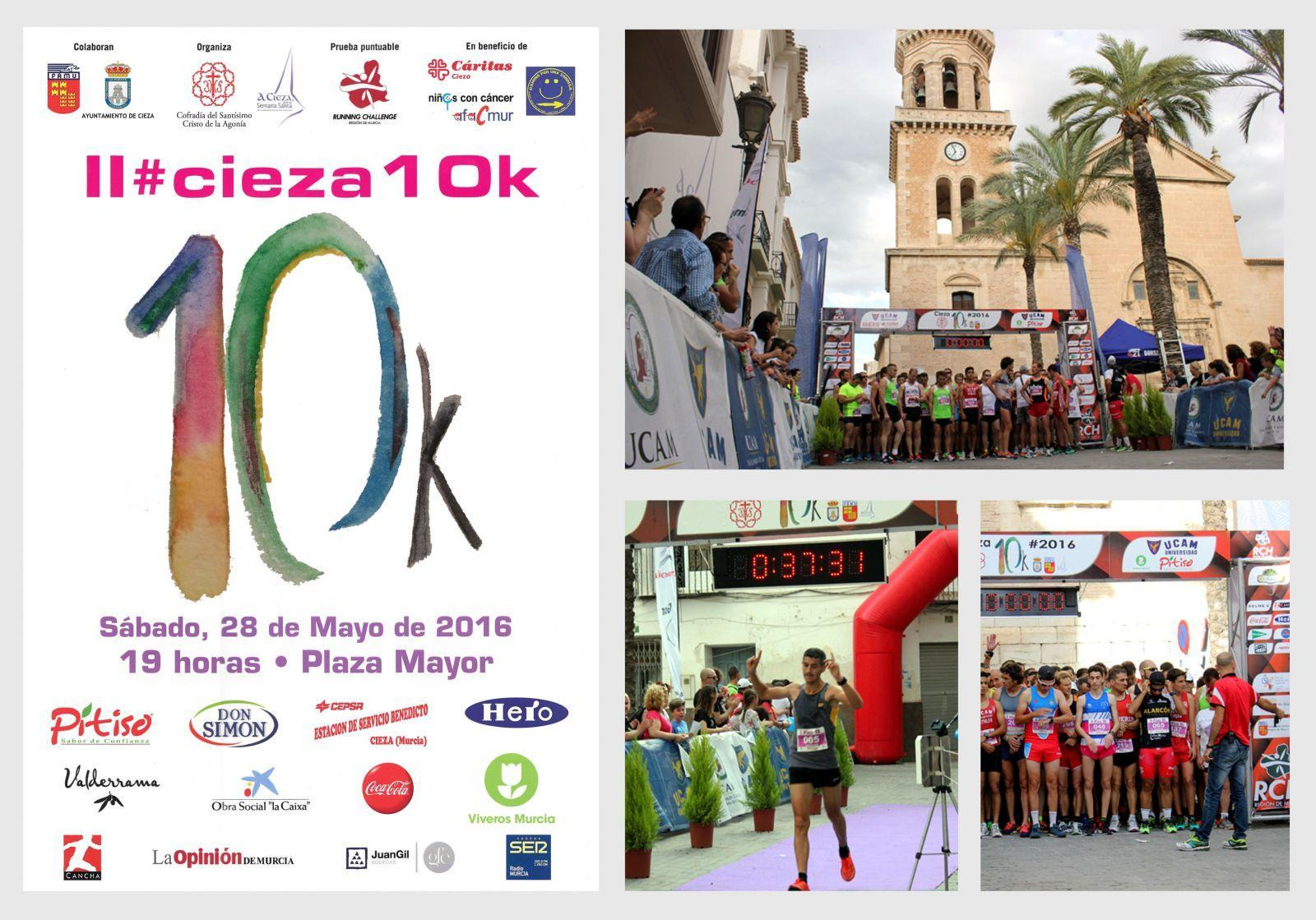 Viveros Murcia colabora con la Cieza10K