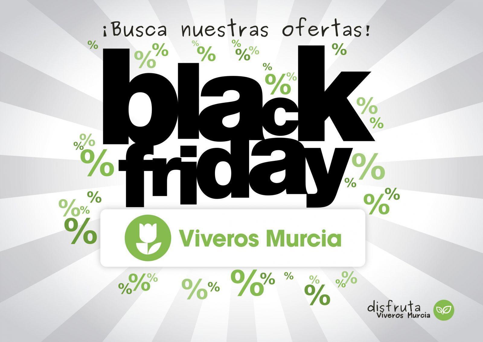 Black Friday en Viveros Murcia