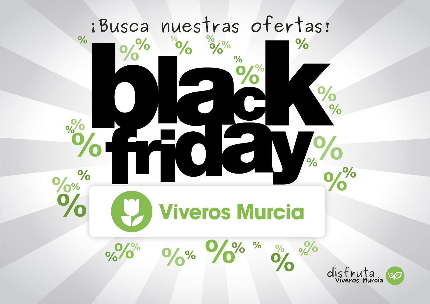 Black Friday 2017 en Viveros Murcia