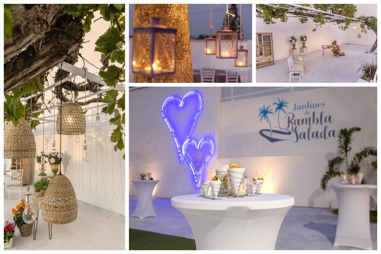 Proyecto de diseño, jardinería e iluminación Jardines de Rambla Salada